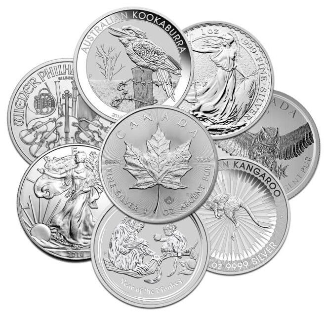 Mix bag circulated collector coins